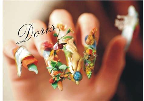 3d acrylic paint nail dali nail 3d acrylic nail gallery