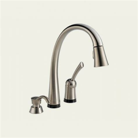 touch kitchen faucet delta touch faucet