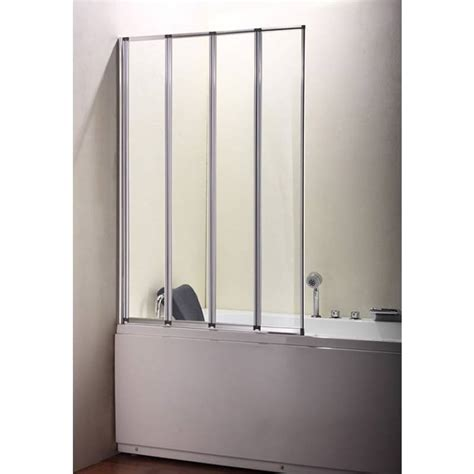 bi fold shower screens bath volente bi fold bath screen buy at bathroom city