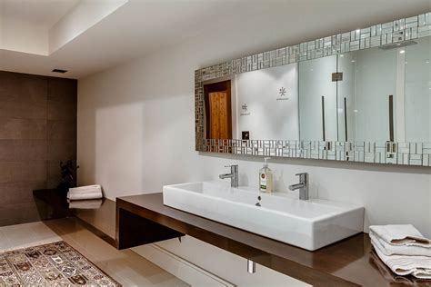 bathroom mirrors canada captivating contemporary house in toronto canada