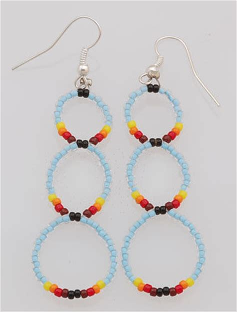 how to make indian jewelry american navajo handmade beaded earrings ebay