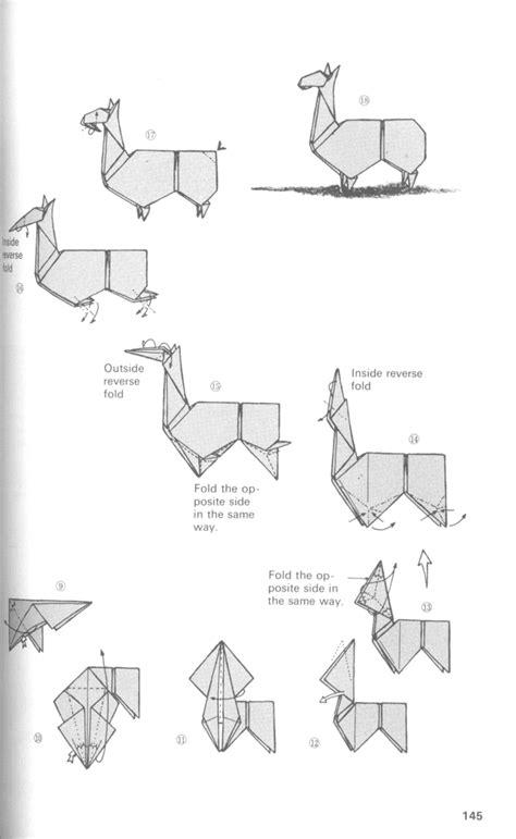origami llama origami llama by chiyaniwatori on deviantart