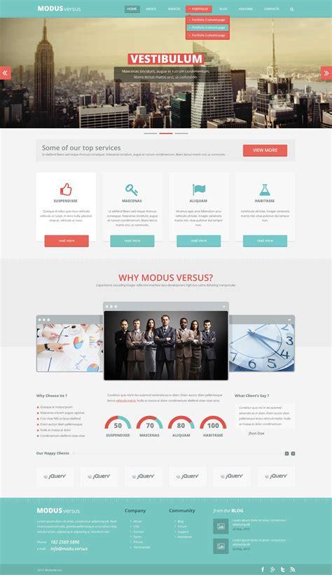design website free free psd template modus versus webdesigner depot