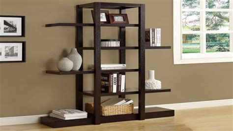 decorative shelving units black 5 shelf bookcase decorative wall shelving units