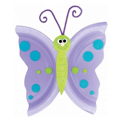 butterfly paper plate craft butterfly craft out of paper plate trusper