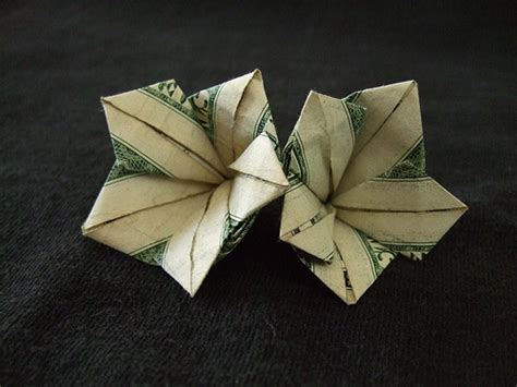 dollar bill origami flower money origami flowers 171 embroidery origami