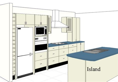 kitchen layout with island one wall kitchen layout with island finishing touch
