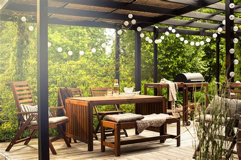 ikea patio lights outdoor patio string lights backyard ideas