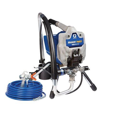 using a home depot paint sprayer titan capspray 115 finish hvlp paint sprayer 0524034