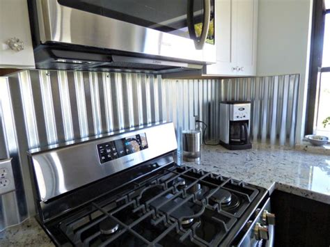 metal kitchen backsplash corrugated metal backsplash kitchen remodels