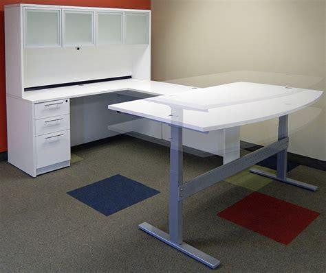 white u shaped desk white u shaped desk white u shaped workstation w hutch