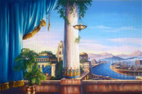 Der Garten Ischtar Gold by H 228 Ngende G 228 Rten Babylon Stock Abbildung Bild 65754454