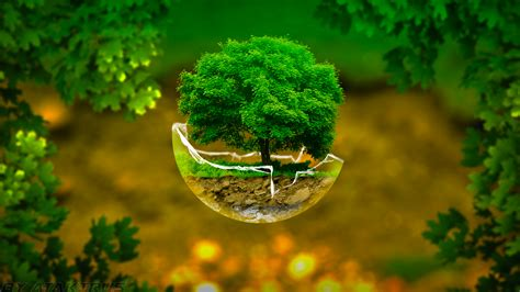 tree glass tree in broken glass sphere by atakirus on deviantart