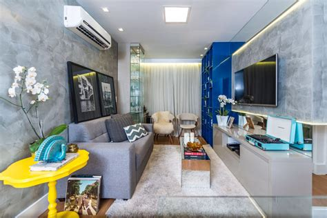 decorar sala de apartamento decora 231 227 o de apartamento de 50m2 super compacto mais