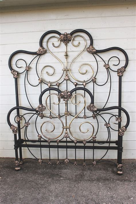 antique iron bed antique iron bed 7 cathouse beds