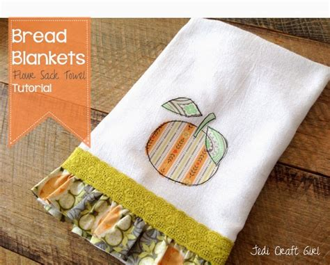 flour crafts for bread blankets flour sack towel tutorial