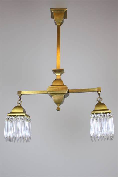 mission style lighting fixtures mission style fixture circa 1910 satin brass 2