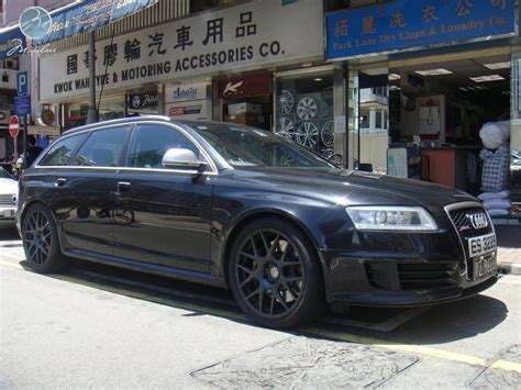 Audi Rs6 Black by Audi Rs6 Avant With 20 Quot Modulare B1 Satin Black
