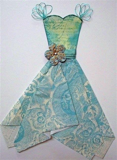 how to make a card dress pin by sher ree west on paper dresses
