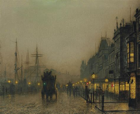 Mucha Artwork by John Atkinson Grimshaw Paintings Reekie Glasgow