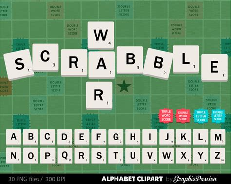 scrabble commercial scrabble alphabet clip graphic letters clipart abc digital