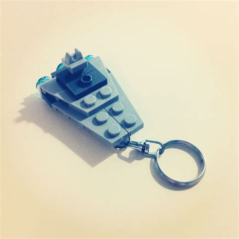 how to make a keychain with how to make a lego keychain
