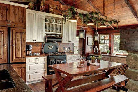 rustic kitchen design ideas decoraci 243 n de cocinas r 250 sticas 50 ideas originales