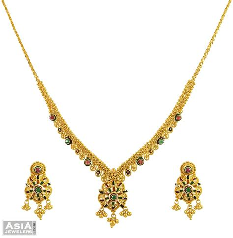 indian necklace antique indian gold necklace set