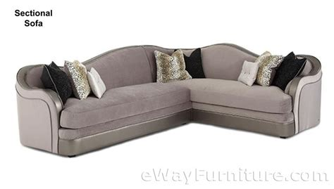 silver sectional sofa silver swank sectional sofa
