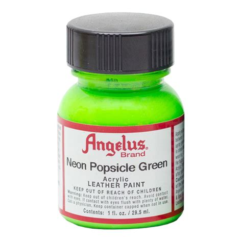 Buy Angelus Leather Paint 1 Oz Neon Popsicle Grn