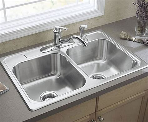 two sinks in the kitchen 3 miracles two bowl kitchen sink vs one bowl