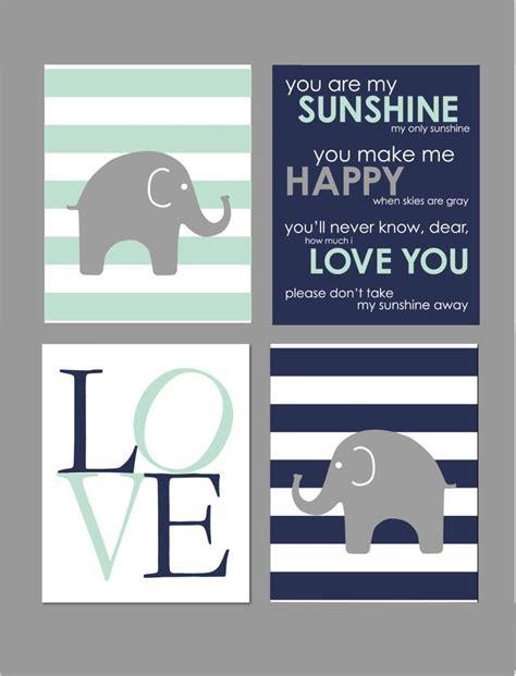 mint nursery decor best 25 elephant nursery decor ideas on baby