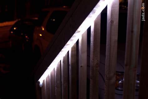 rope lights on deck deck lighting with led rope lights jadz