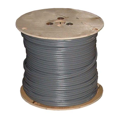 outdoor electrical wire 500ft cable 10 2 gray solid uf b w g home residential ebay