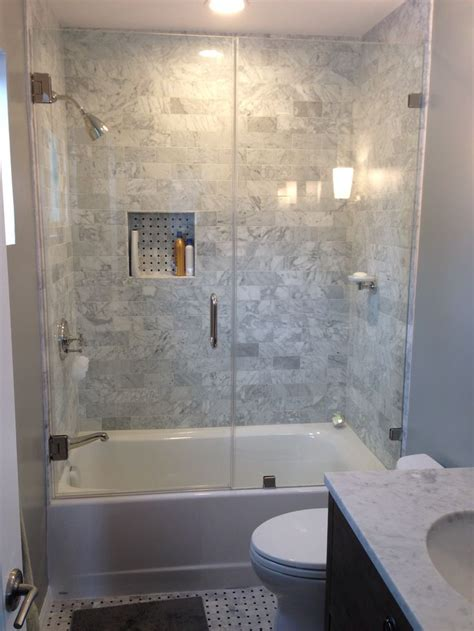 shower glass for bath 25 best ideas about tub shower combo on