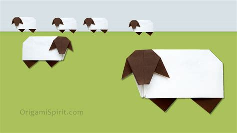 how to make origami sheep origami sheep easy tutorial