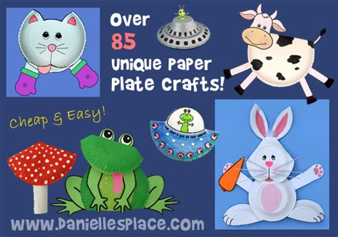 crafts made from paper plates paper plate crafts for