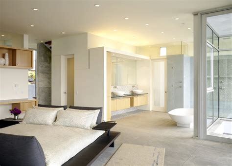 master bedroom and bathroom designs open bathroom concept for master bedrooms
