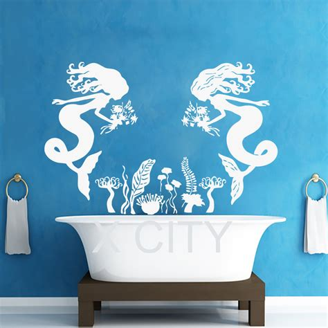 mermaid wall sticker get cheap mermaid wall decal aliexpress
