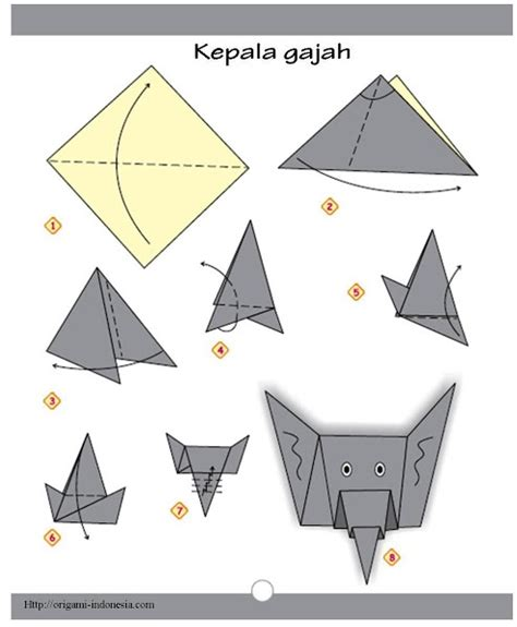 how to make a elephant origami discover and save creative ideas