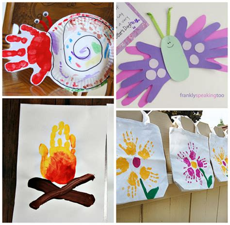 arts and craft ideas for summer handprint crafts for to make crafty morning