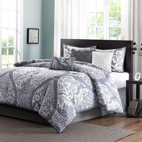 luxury comforter sets california king gray white bed bag luxury 7pc comforter set cal king