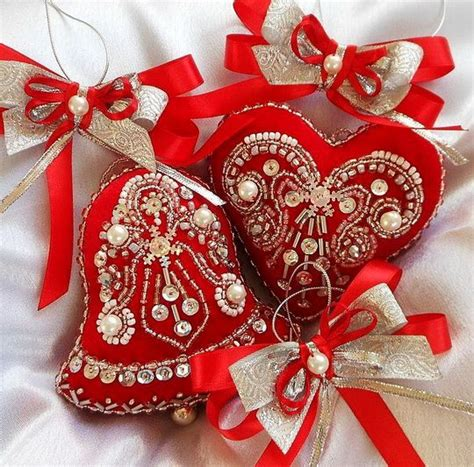 embroidered decorations best 25 embroidered ornaments ideas on