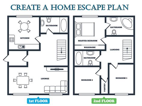how to design a house floor plan escape plan emc security