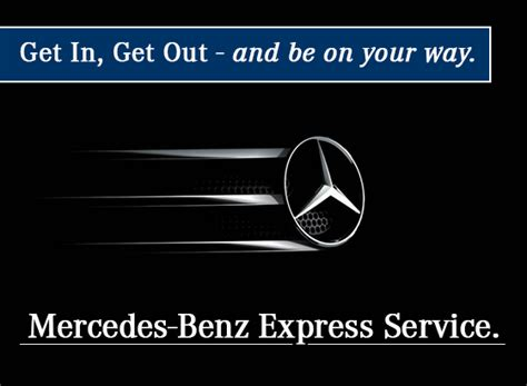 Mercedes Change Coupon by Express Service Department Change Mercedes