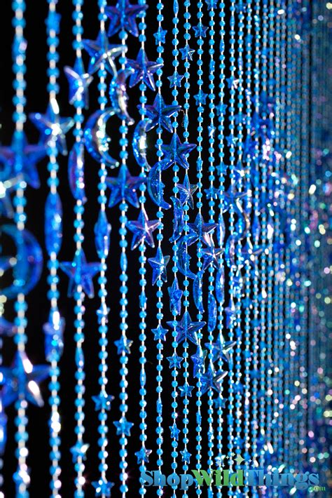 beaded curtains beaded curtains moons celestial blue