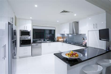 sleek kitchen designs black and white sleek kitchen designs interior design ideas