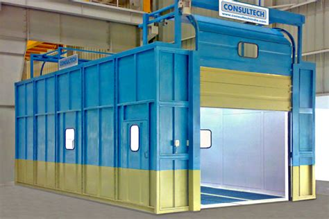 spray painting booths consultech spray paint booth
