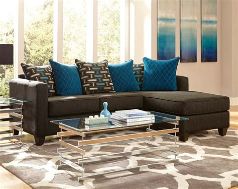 free living room set black with chaise pillows watson two