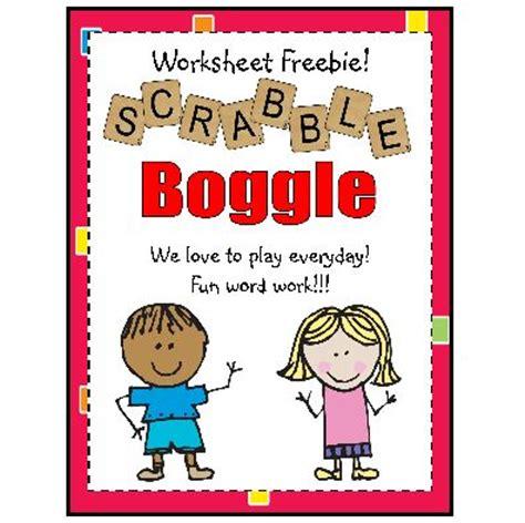 scrabble boggle scrabble boggle worksheet freebie boggle